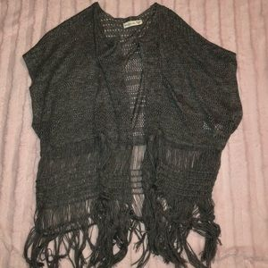 Abercrombie & Fitch Gray Sweater/Duster